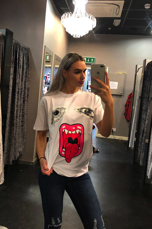 Oversized Mega Jaw T-shirt
