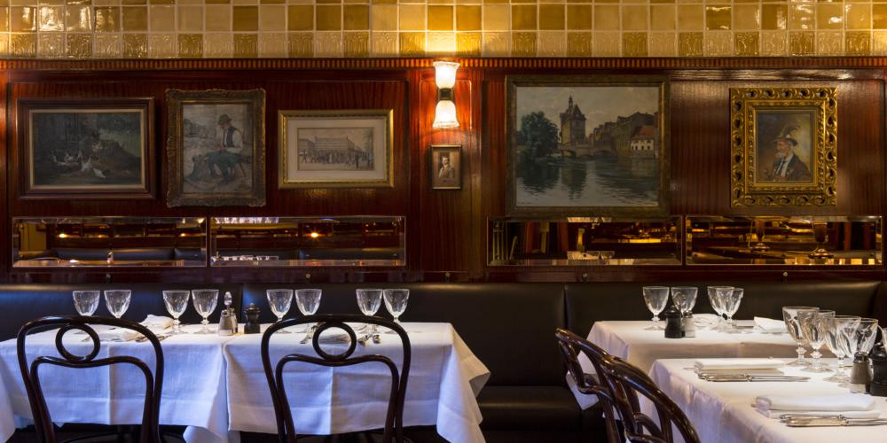 Enjoy traditional Viennese food at Fischer's in Marylebone