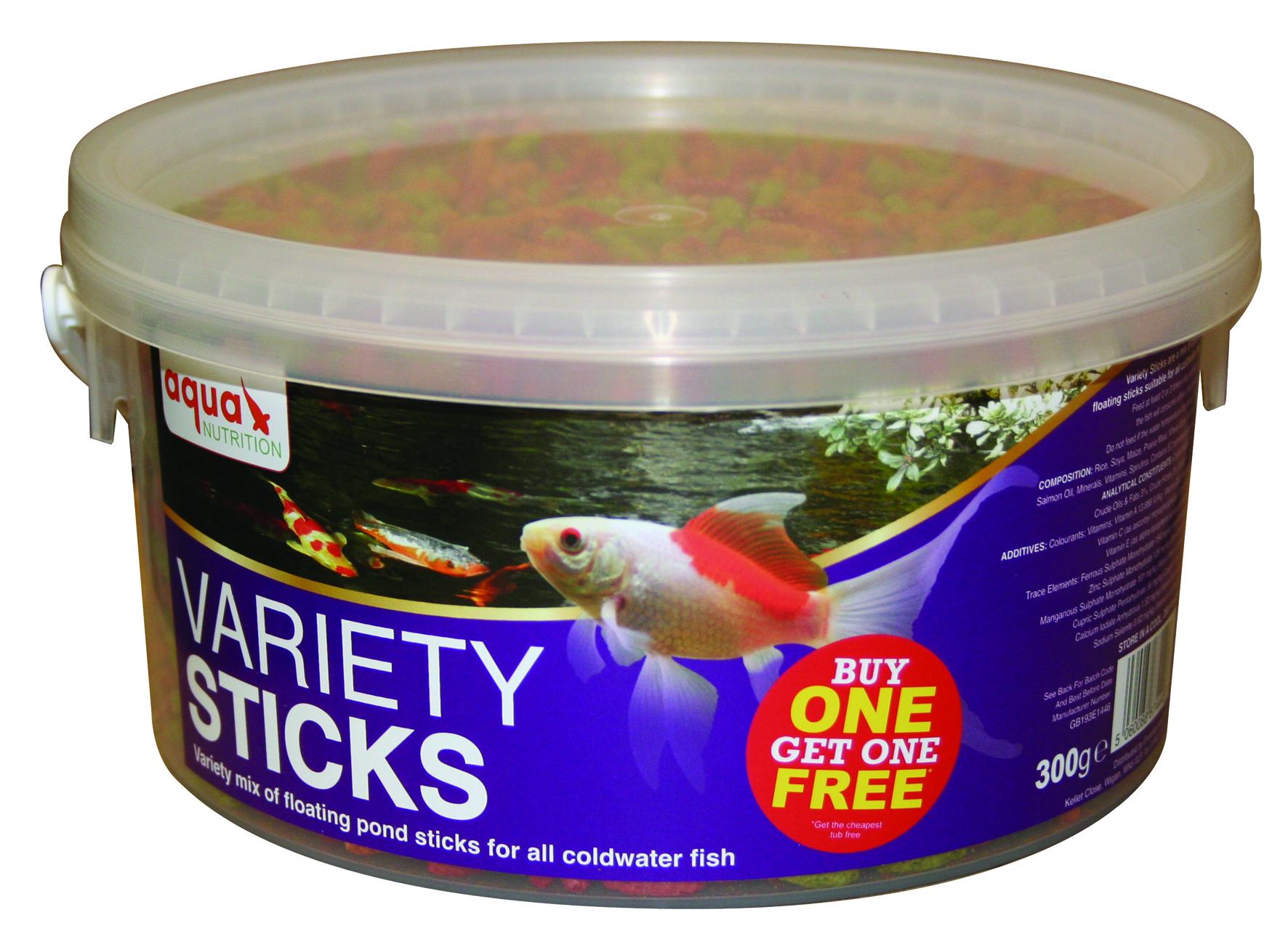 300G Aquan Varietysticks