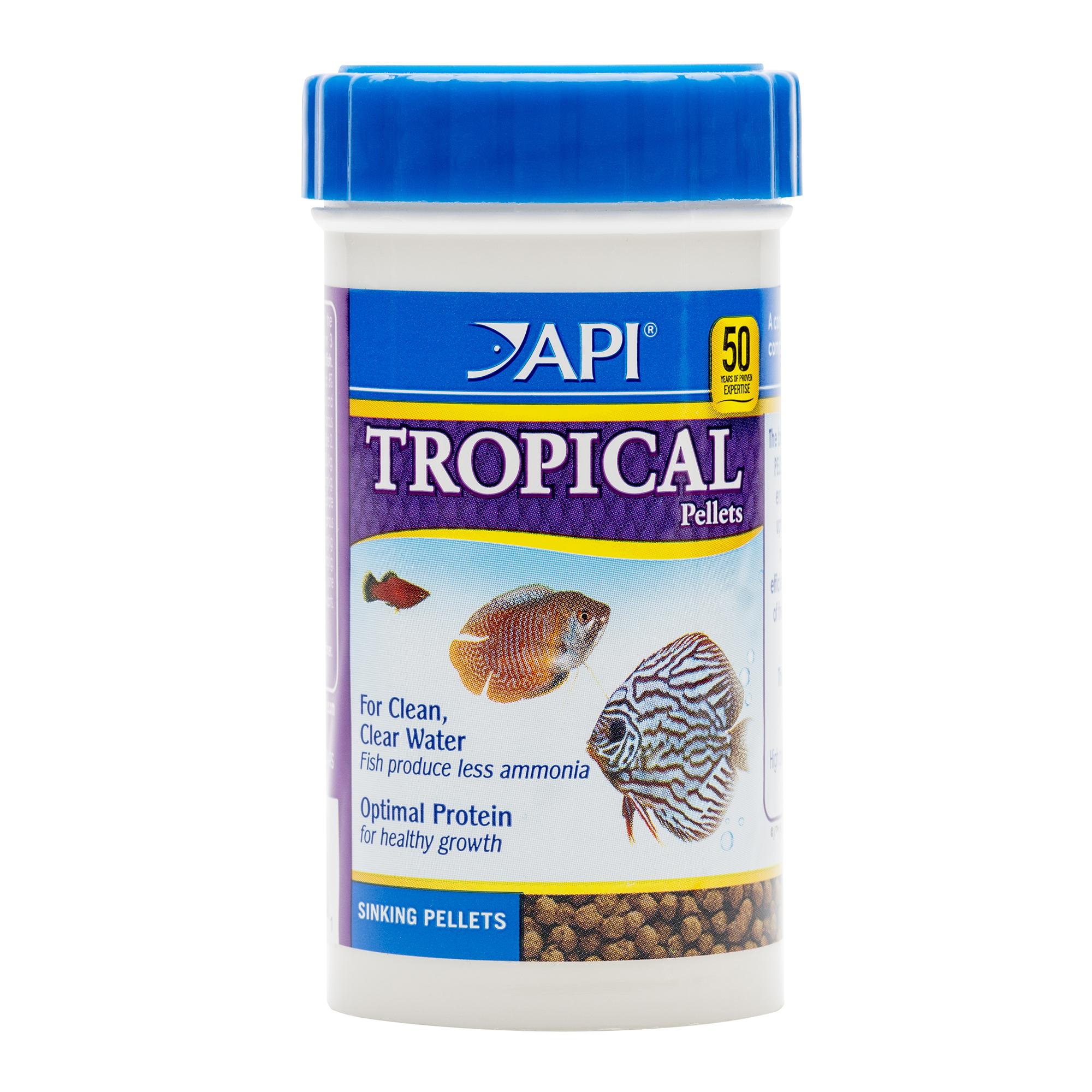 API TROPICAL PELLETS Sinking Pellets Fish Food