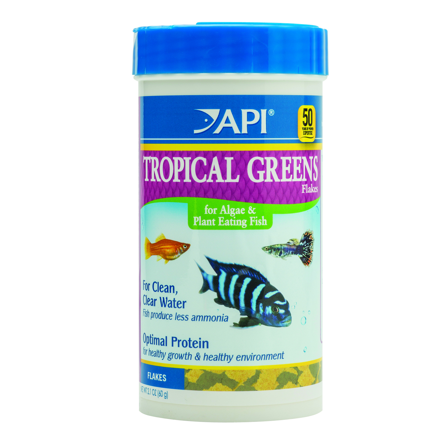 API Tropical Greens Flake 60g