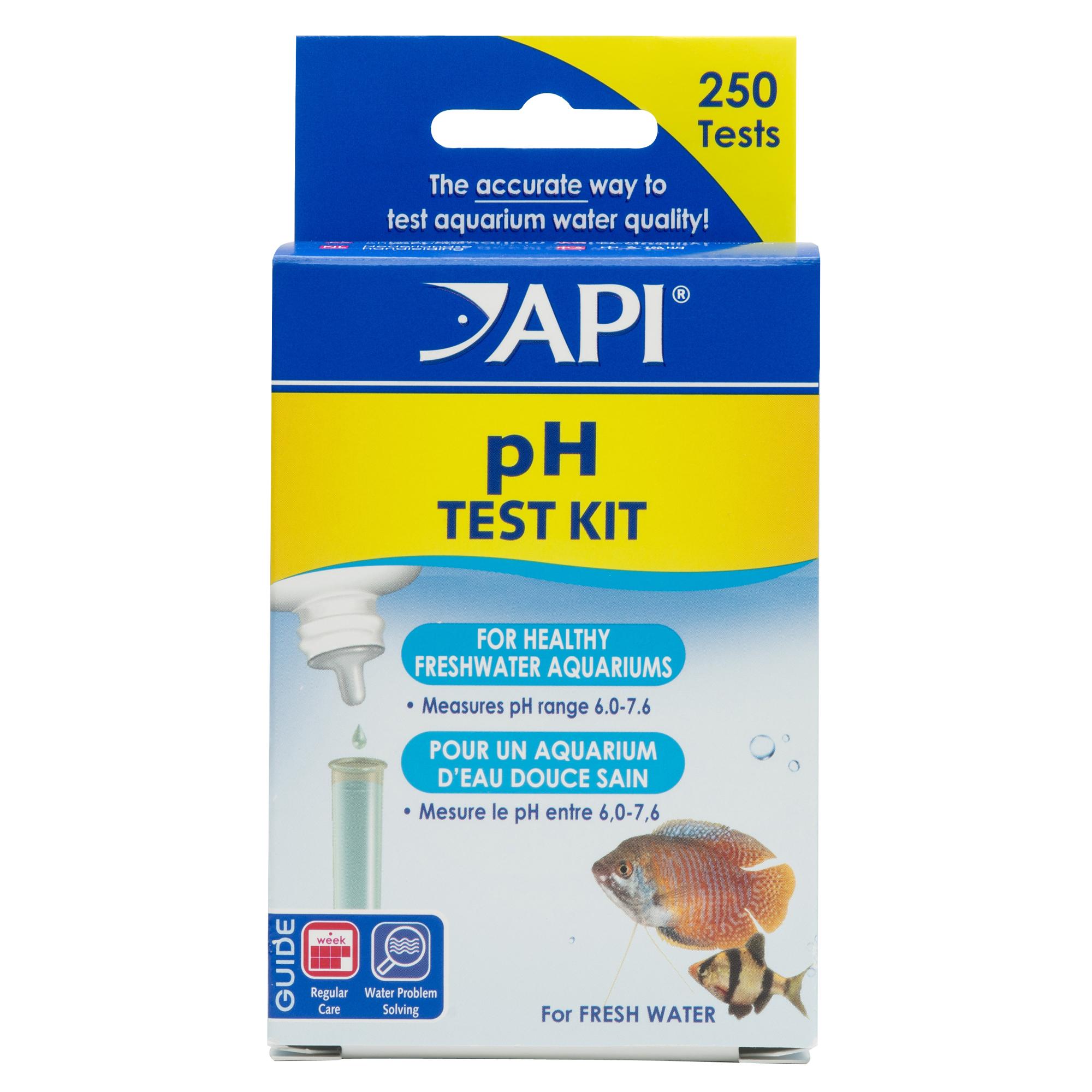 API pH Aquarium Test Strips Main