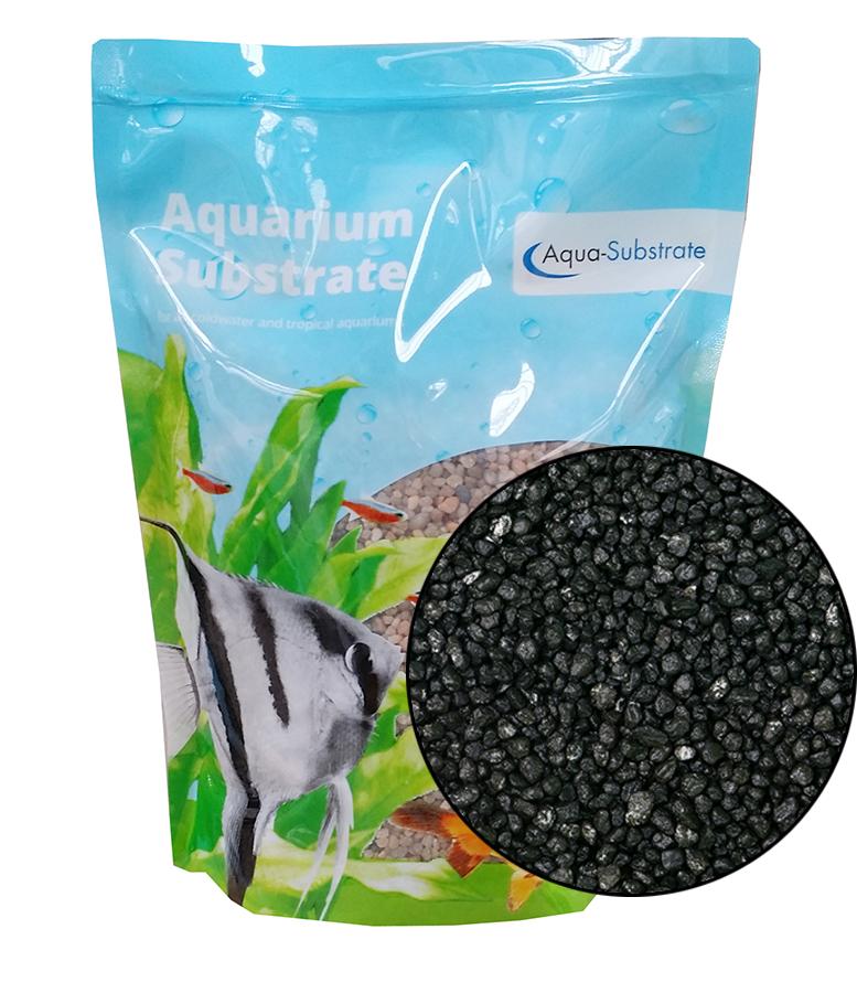 Aqua Range 'Aqua-Substrate' Gravel - Jet Black
