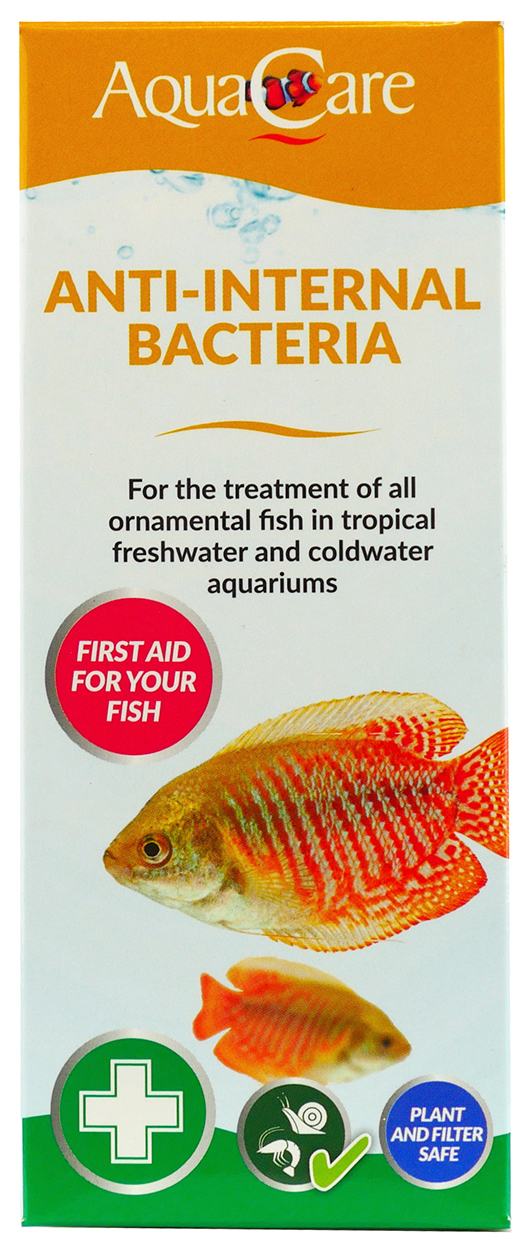Aqua Care Anti Internal Bacteria100Ml Box Front
