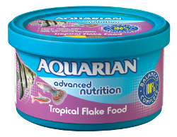 Aquarian Tropical Flake Food 13G