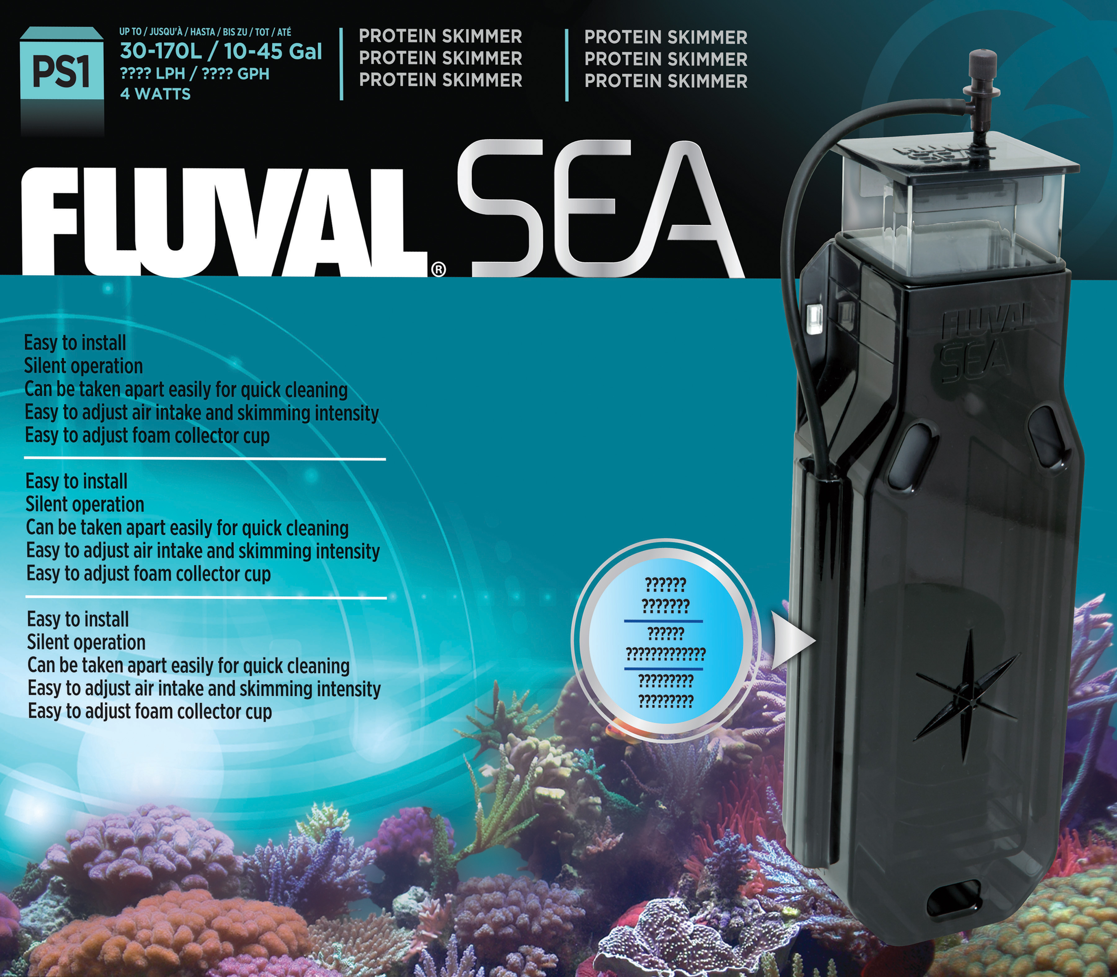 Fluval Sea Protein Skimmer (PS1)