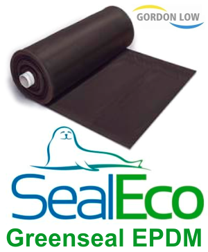 "Gordon Low 0.75mm ""SealEco"" GREENSEAL EPDM Rubber Pond Liner - 2.5m x 3.5m"