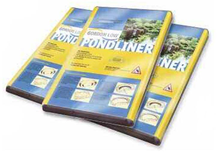 Gordon Low Pre-Packed 0.5mm PVC Pond Liner - 2.0m x 2.5m