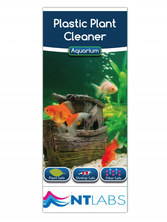 NT Labs Aquarium Plastic Plant Cleaner