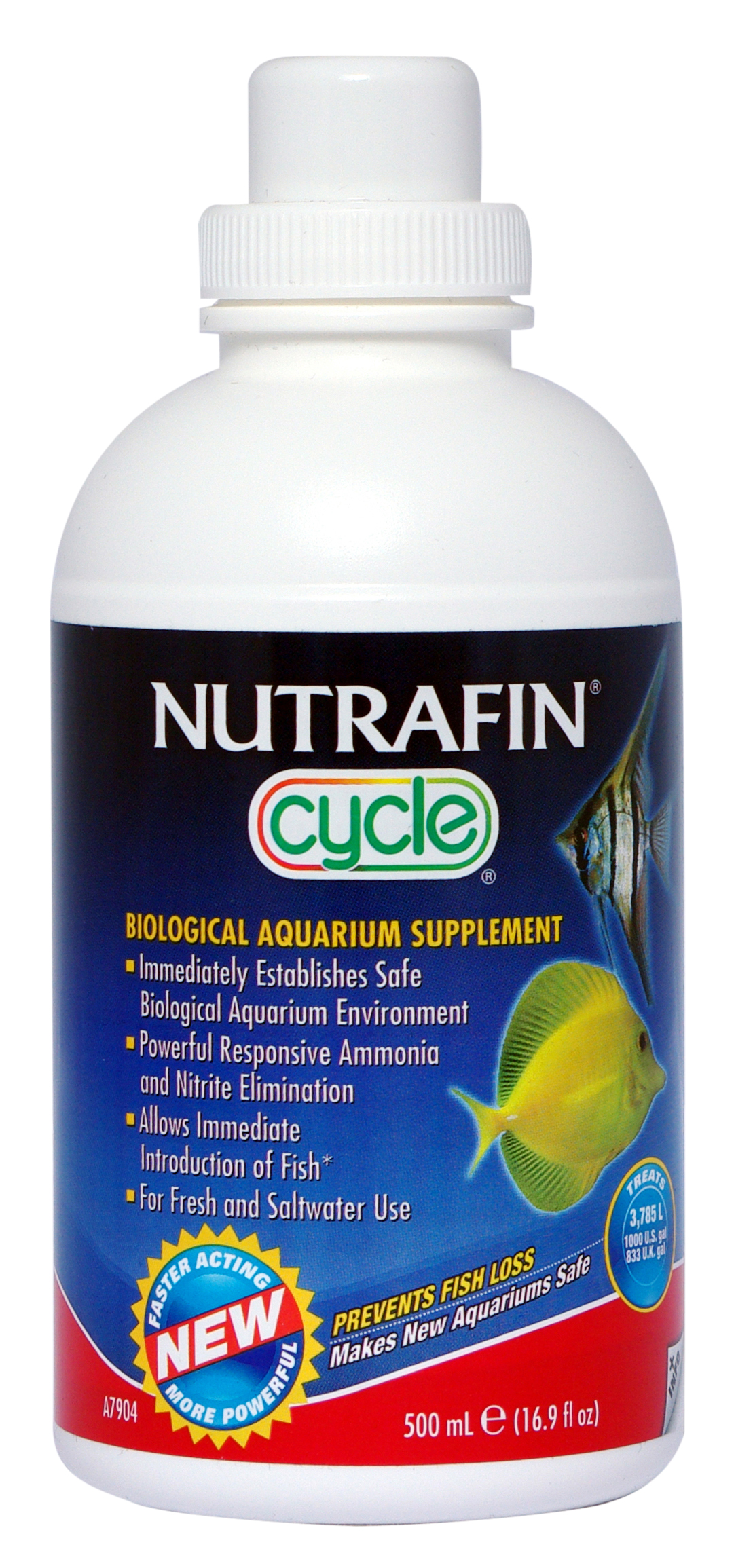 Nutrafin Cycle - Biological Aquarium Supplement 500