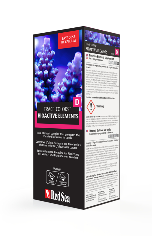 Red Sea Bioactive Elements (Coral Colors D) 500ml