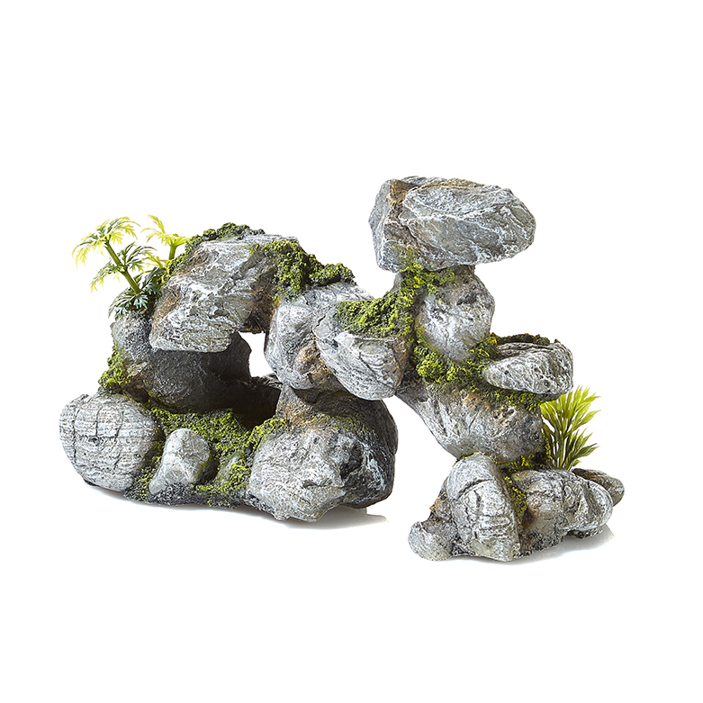 Rocky Formation With Plants 2