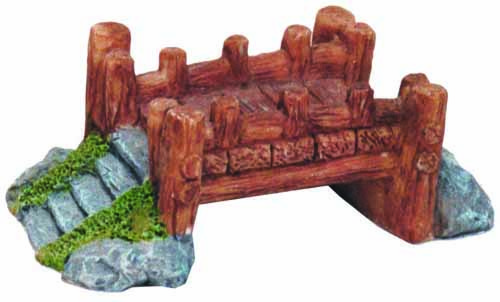 Small Bridge 'Wood' (8.5 x 4.5 x 3 cm)