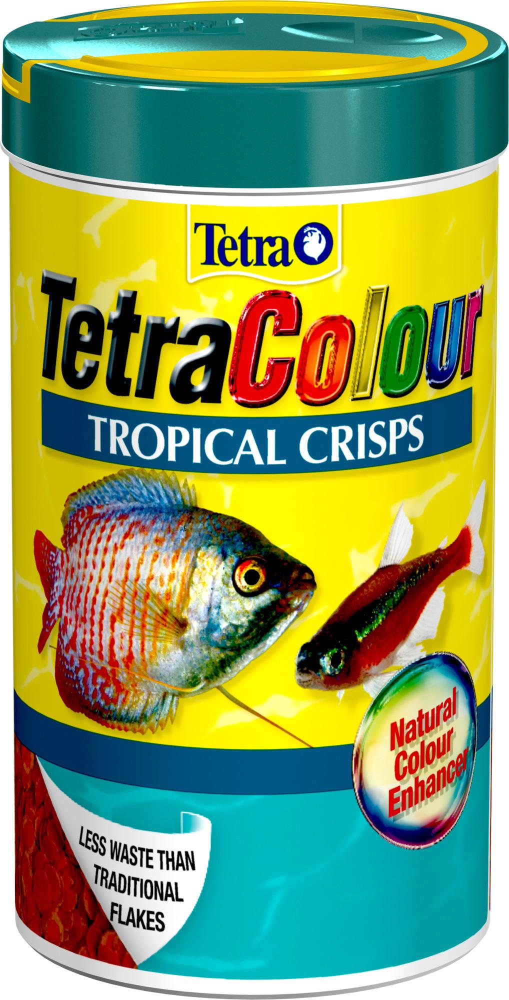 Tetra Colour Tropical Crisps 185Ml