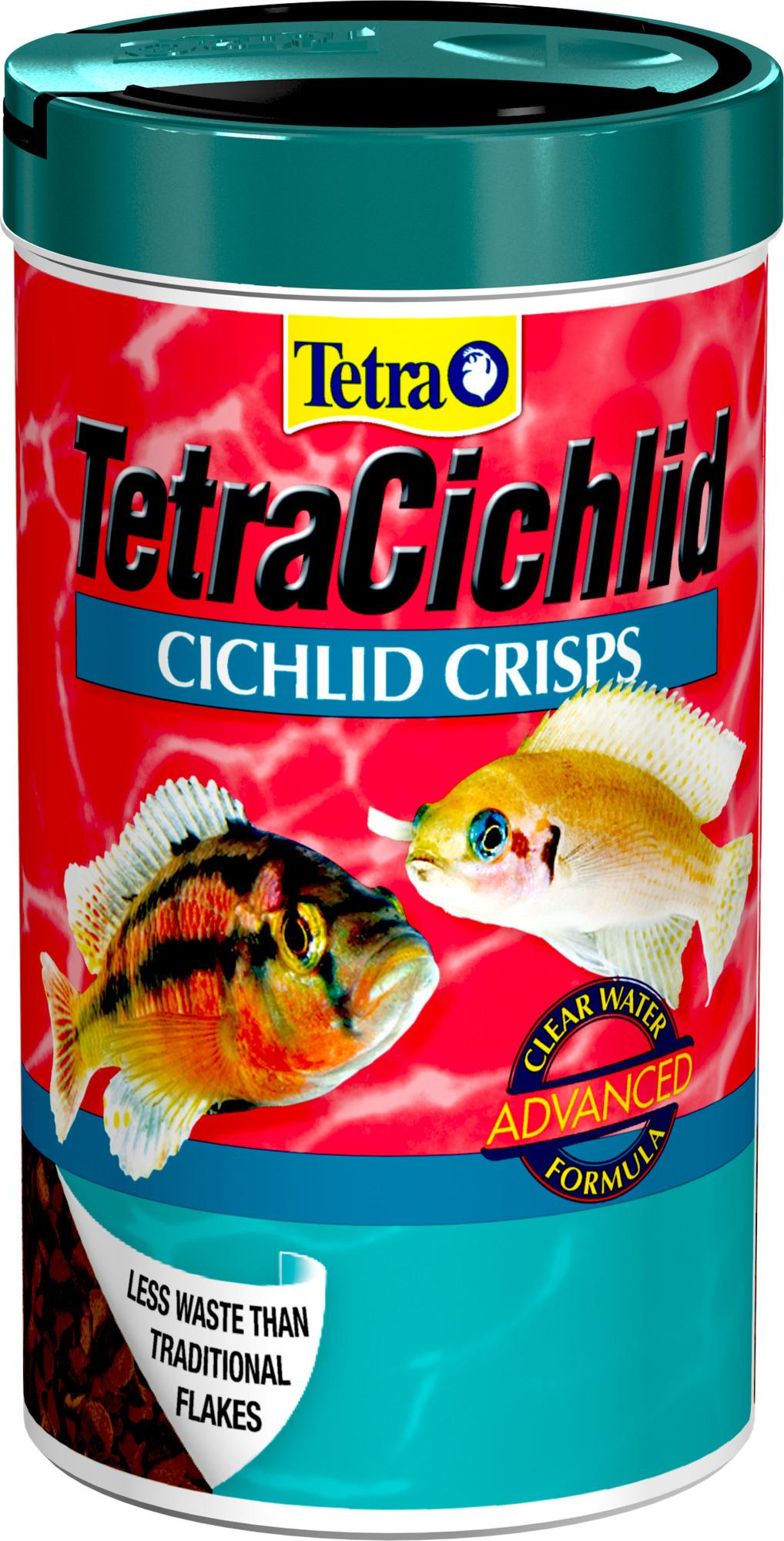 Tetra Cichlid Crisps 375Ml