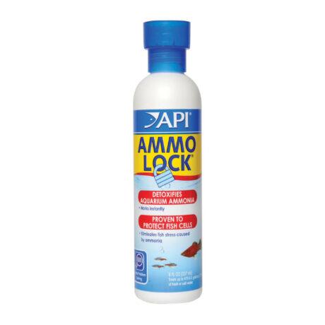 API AMMO-LOCK Freshwater and Saltwater Aquarium Ammonia Detoxifier