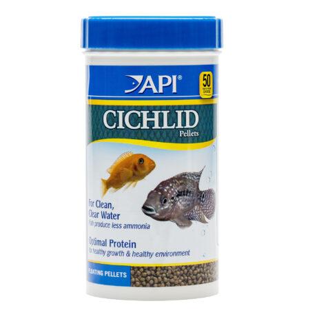 API CICHLID LARGE PELLETS Large Floating Pellets Fish Food 380G