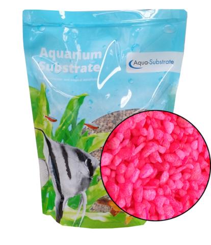 Aqua Range 'Aqua-Substrate' Gravel - Neon Pink