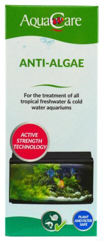 Aqua Care Anti Algae100Ml Box Front