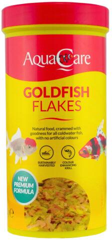 Aqua Care Goldfish Flakes100G Front