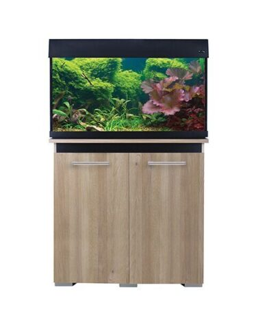 AquaOne AquaVogue 135L Aquarium and Cabinet Set Oak