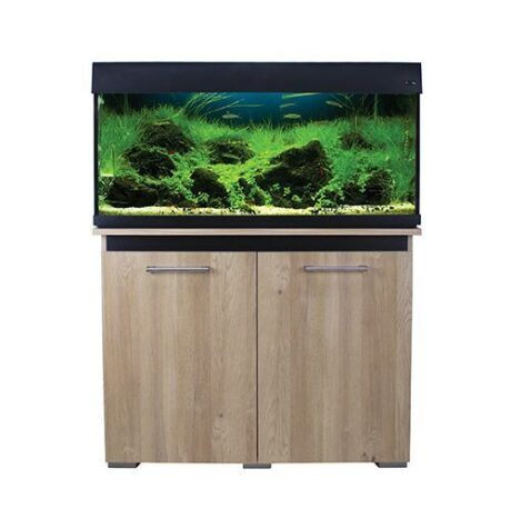 AquaOne AquaVogue 170L Aquarium and Cabinet Set Oak