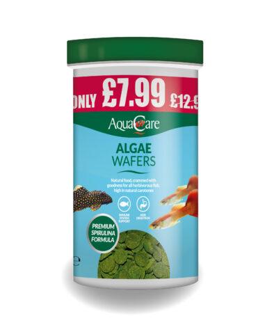 Aquacare Algae Wafers 200G Promo Render 2018 01