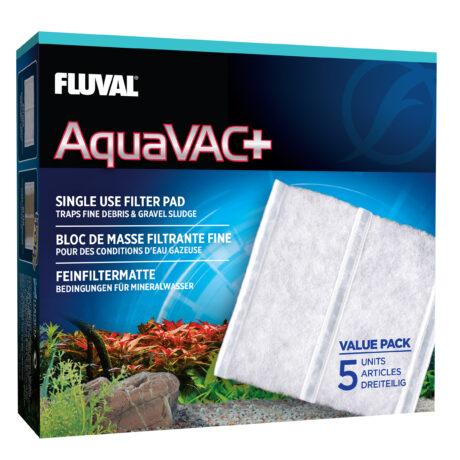 Fluval Aquavac Plus Fine Filter Pad 5 pack