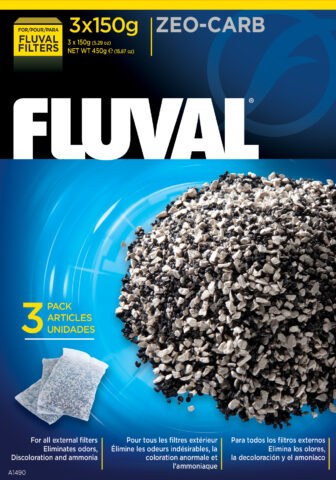 Fluval Zeo-Carb (3 x 150g)
