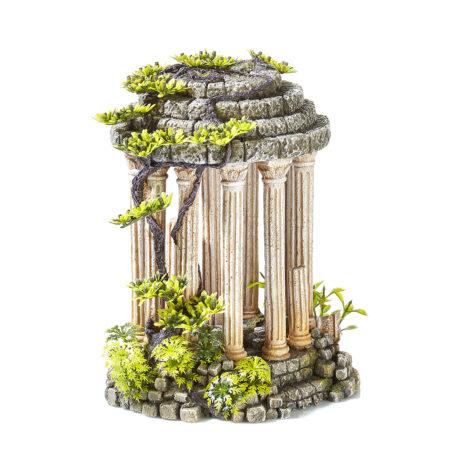 Roman Temple With Plants 2