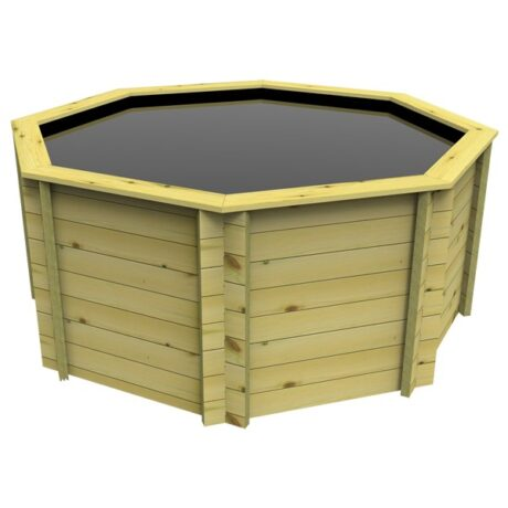 The Garden Timber Company 8ft Octagonal Fish Pond (27mm plank, 107cm high)