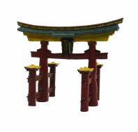Blue Ribbon Japanese Torii Gate (18 x 11 x 14cm)