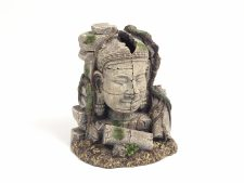 Blue Ribbon Ancient Stone Head Ruin (14 x 10 x 17cm)
