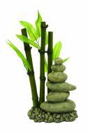Blue Ribbon Zen Bamboo & Pebbles (13 x 8 x 23cm)