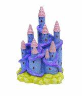Blue Ribbon Fantasy Castle Lilac/Pink (9 x 8 x 13cm)