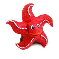 Blue Ribbon Bubbling Action Starfish (11 x 8 x 11cm)
