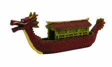 Blue Ribbon Chinese Dragon Boat (21 x 4 x 7cm)
