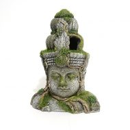 Moss Covered Stone Head