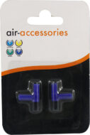 Aqua Range 'Aqua Air' Accessory: airline elbow (x 2 per pack)