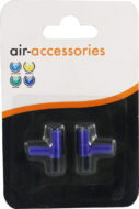 Aqua Range 'Aqua Air' Accessory: airline T-piece (x 2 per pack)