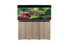 AquaOne AquaVogue 235L Aquarium and Cabinet Set Oak