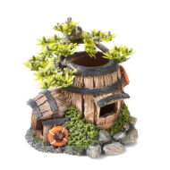 Barrel House With Plants 2