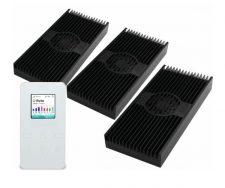 AI Vega FC LED Lights - (Three Units - Black)
