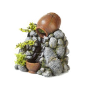 Clay Pot Sand Fall With Plants 2