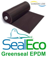 "Gordon Low 0.75mm ""SealEco"" GREENSEAL EPDM Rubber Pond Liner - 2.5m x 2.5m"
