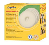 Laguna Pressure-Flo Replacement Foams, 4-pack for Pressure-Flo 8000