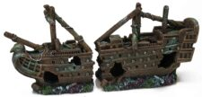 Large Galleon Shipwreck (40 x 10 x 19 cm)