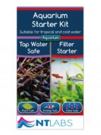 NT Labs Aquarium Starter Kit Filter Start and Water Condition