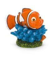 Penn Plax Nemo on Coral Ornament - Small
