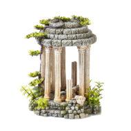Roman Temple With Plants 1